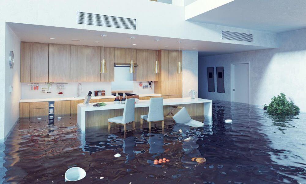water damage property repairs